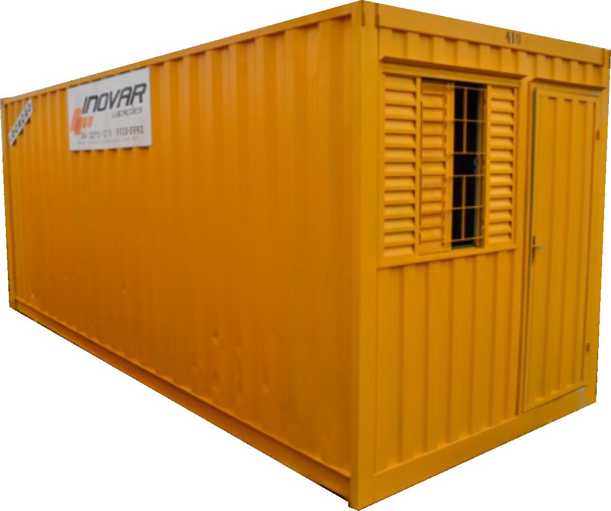 Foto do Container Escritório