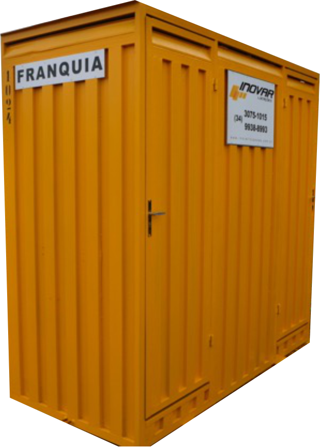 Foto do Container Sanitário